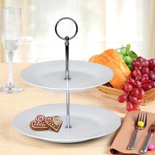 Banquet Stojan na cukrovinky porcelánový SOFIA 2 poschodový
