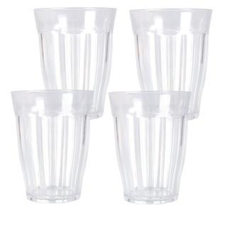Súprava plastových pohárov 4 ks