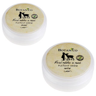 Botanico denný a nočný krém s kozím mliekom a medom 50 ml + 50 ml