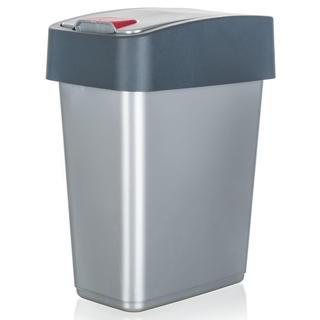 Kôš odpadkový KEEEPER, šedý
