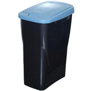 Kôš na triedený odpad modré veko 25 l