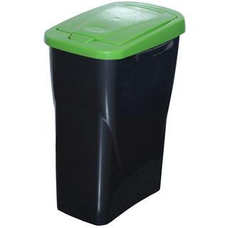 Kôš na triedený odpad zelené veko 25 l