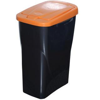 Kôš na triedený odpad oranžové veko 25 l