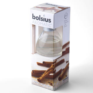 Osviežovač vzduchu Bolsius, škorica, objem 45 ml