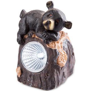 Solárna záhradná dekorácia - medveď