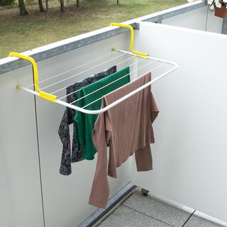 Závesný sušiak na balkón, dĺžka šnúr 4,5 m
