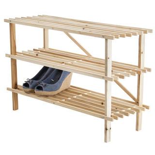 Drevený botník 3poschodový