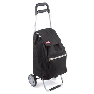 Nákupná taška na kolieskach CARGO čierna