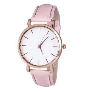 Dámske hodinky s ružovým pásikom
