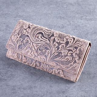 Dámska kožená peňaženka béžová