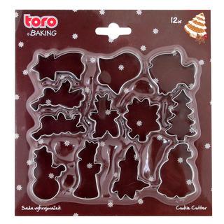 TORO Sada vianočných formičiek 12 ks