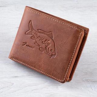 Pánska kožená peňaženka KAPR svetlohnedá