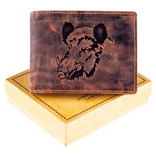 Pánska kožená peňaženka DIVIAK hnedá