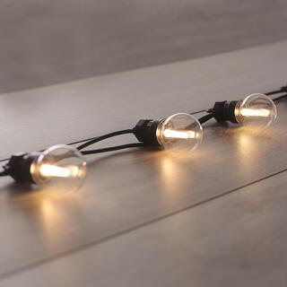 Svetelná reťaz s 10 LED žiarovkami 8 m