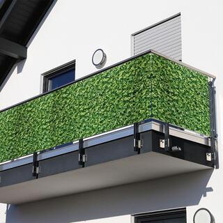 Balkónová zástena ZELENÉ LISTY 85 x 500 cm