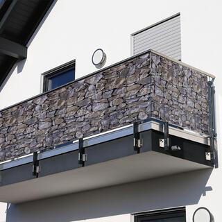 Balkónová zástena KAMENE 85 x 500 cm
