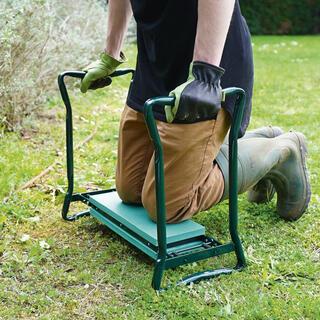 Záhradná stolička kľakačka 2v1