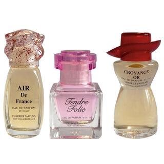 Francúzske parfumy, súprava 3 ks