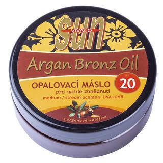 Opaľovacie maslo s arganovým olejom OF 20 200 ml