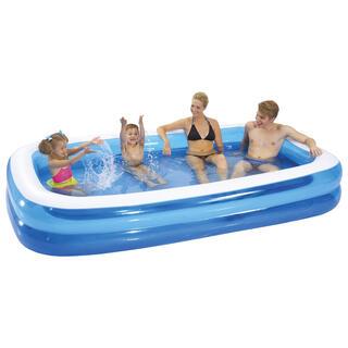 Nafukovací detský obdĺžnikový bazén
