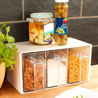 Zásobník na potraviny 3 ks