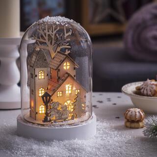 Svietiaci domček - snežítko