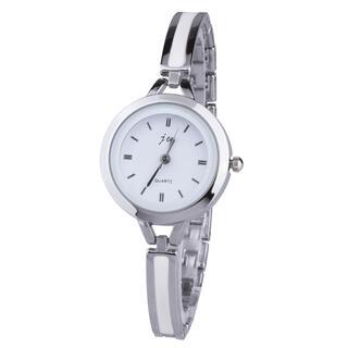Strieborné dámske hodinky