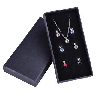 Sada retiazky a 7 príveskov Swarovski Crystal