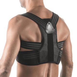 Nastaviteľná bandáž na správne držanie tela, čierna