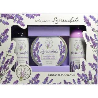 Darčeková kazeta kozmetiky s levanduľovým olejom BT Premium