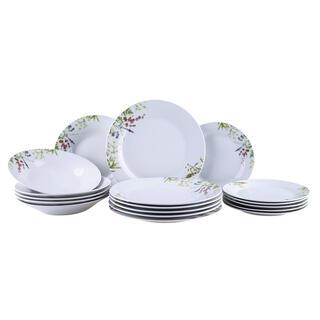Porcelánová súprava tanierov HERBAL GARDEN
