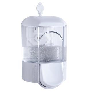 Transparentný dávkovač na mydlo