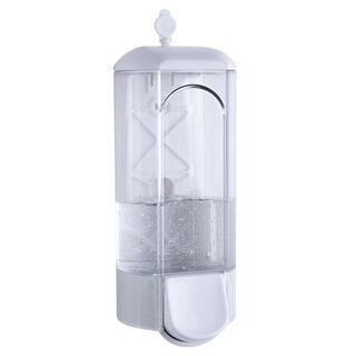 Transparentný dávkovač na mydlo, 800 ml
