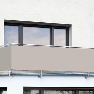 Balkónová zástena BÉŽOVÁ