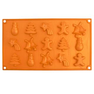 Silikónová forma na čokoládu CHRISTMAS