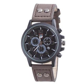 Pánske hodinky s čiernym ciferníkom