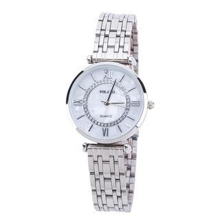 Dámske hodinky s kovovým pásikom