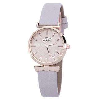 Dámske hodinky s koženkovým remienkom
