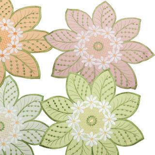 Textilné prestieranie na stôl kvety