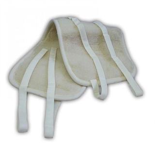 Obojstranný ľadvinový pás z ovčej vlny