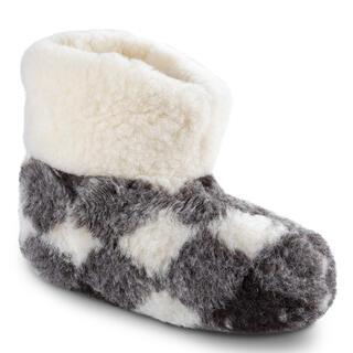 Domáce papuče z ovčej vlny