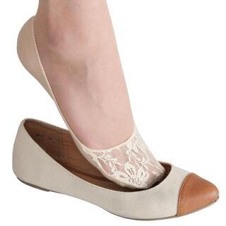Ponožky do balerínok 3 páry