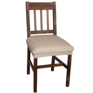 Multielastické poťahy Carla orieškové, stoličky 2 ks 40 x 40 cm