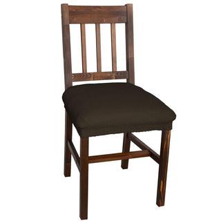 Multielastické poťahy CARLA hnedé, stoličky 2 ks 40 x 40 cm