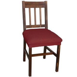 Multielastické poťahy CARLA bordó stoličky 2 ks 40 x 40 cm