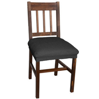 Multielastické poťahy Carla šedé, stoličky 2 ks 40 x 40 cm