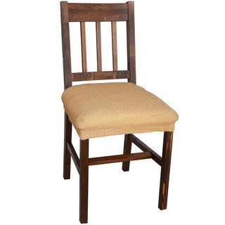 Multielastické poťahy Carla gold stoličky 2 ks 40 x 40 cm