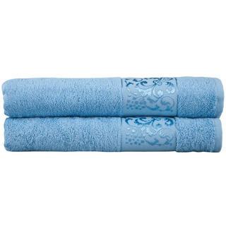 Bambusové uteráky svetlo modré