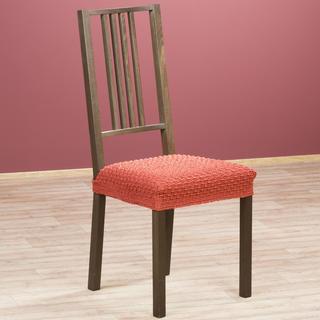 Multielastické poťahy Rebeca tehlové stoličky 2 ks 40 x 40 cm