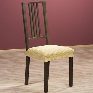 Luxusné multielastické poťahy ZAFIRO gold, stoličky 2 ks 40 x 40 cm